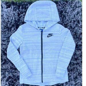 Nike Advance Grey Zip-Up Jacket Size XS